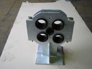 Multiple pipe bearings