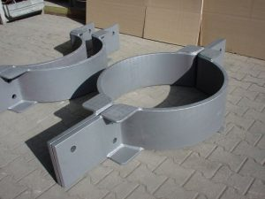 Heavy pipe clamp