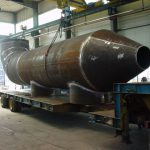 Pipe section DN2000