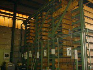 High-bay warehouse