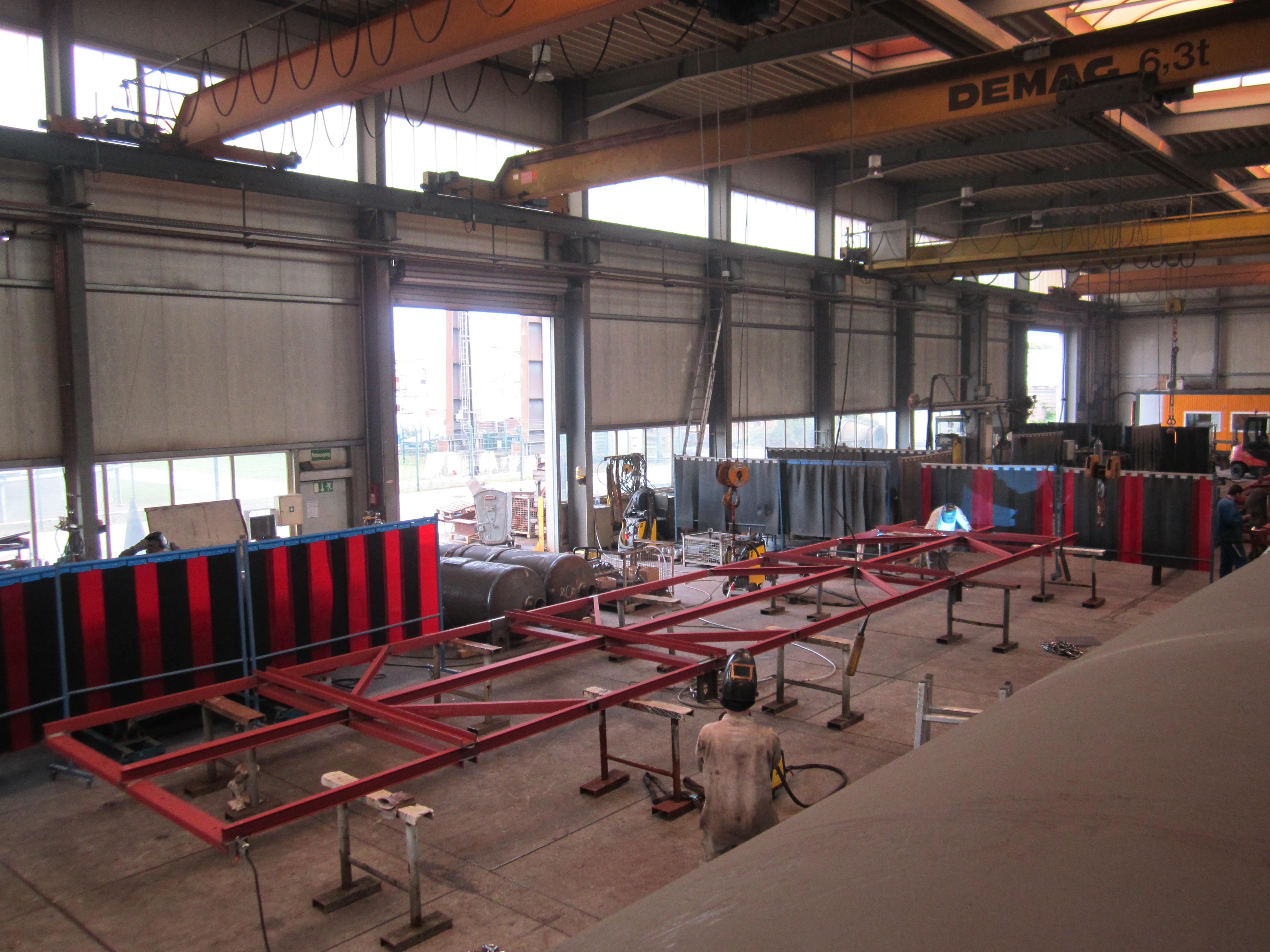 Stahlbau & Sonderkonstruktionen   SSB Schmitt GmbH